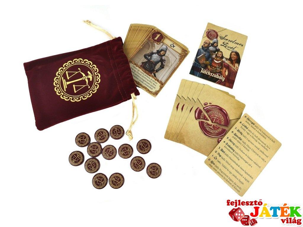 Szerelmes levél ÚJ kiadás, fantasy társasjáték (10-99 év)