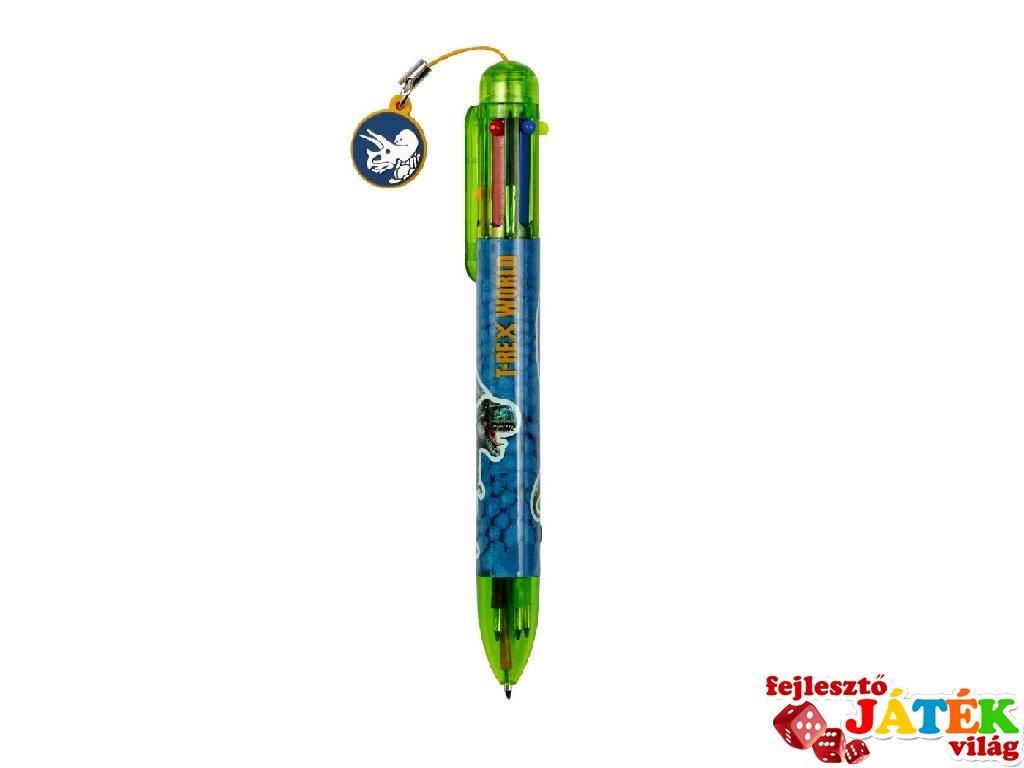 T-Rex 6 színű toll, Spiegelburg papír írószer (14571)