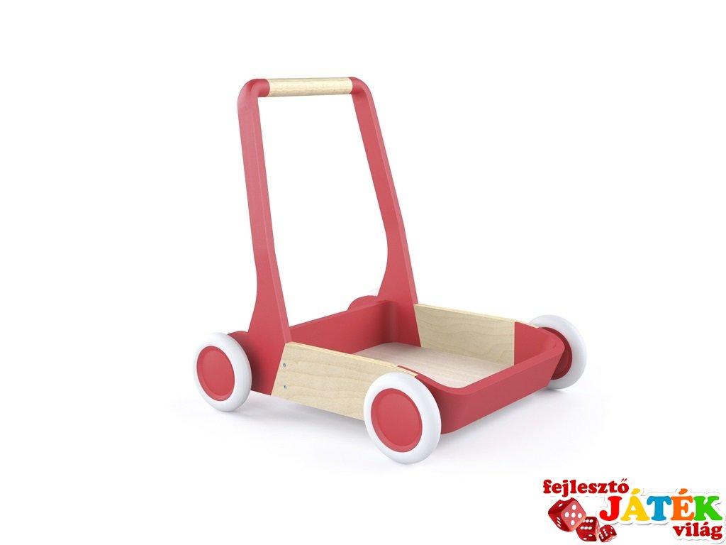 Talicska, kiskocsi, Djeco mozgásfejlesztő babajáték fából - 205 (1-3 év)