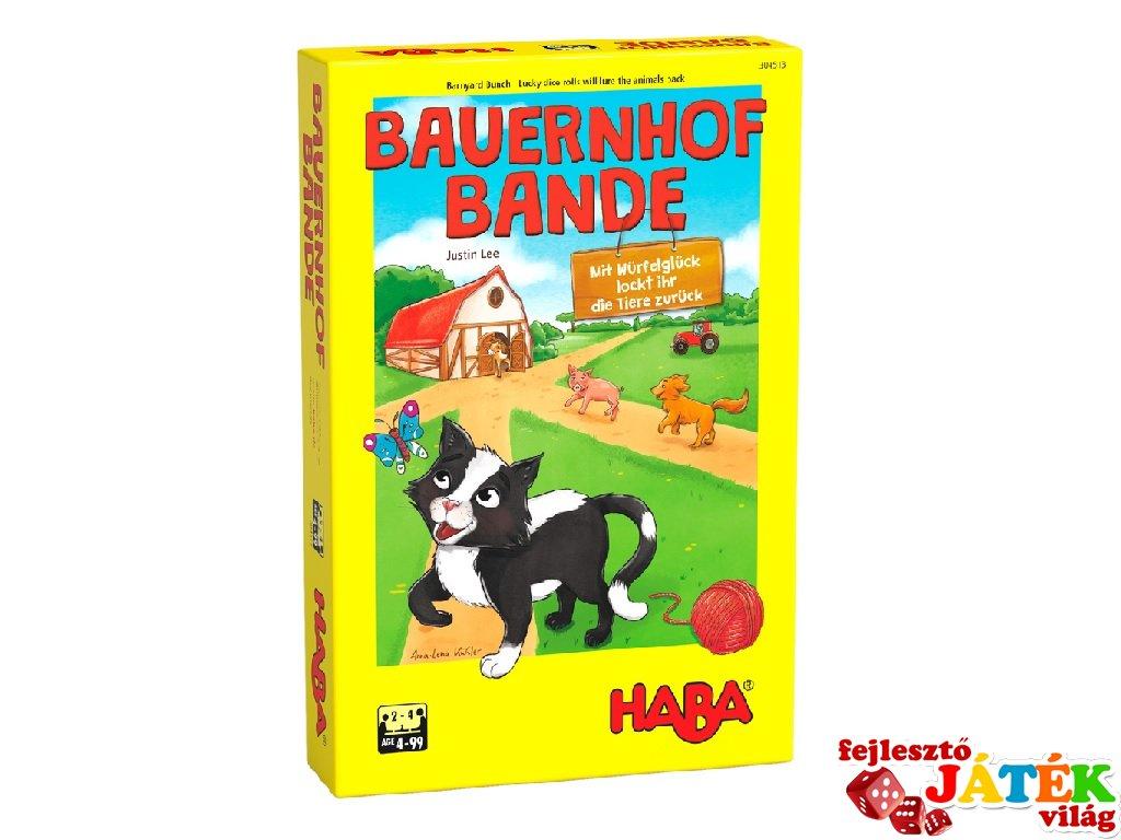 Tanyabanda, Haba kooperatív társasjáték (4-7 év)
