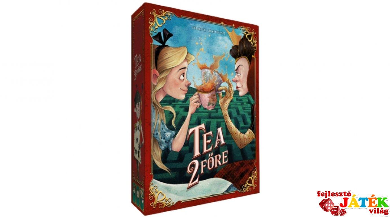 Tea 2 főre, kártyagyűjtögetős stratégia társasjáték (10-99 év)