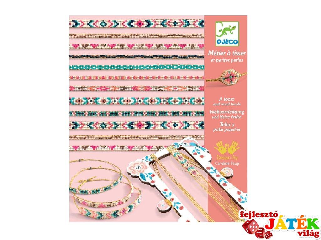 Tiny beads, Djeco karkötő készítő kreatív szett - 9838 (8-14 év)