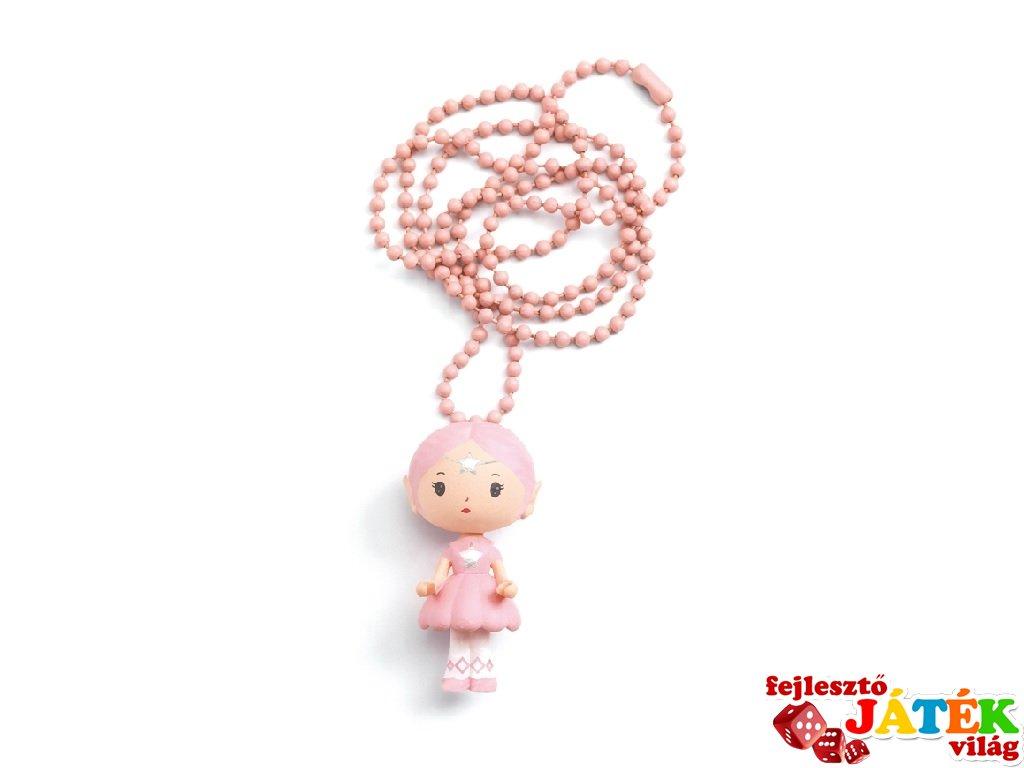 Tinyly nyaklánc Elfe medállal, Djeco gyerekékszer - 6995