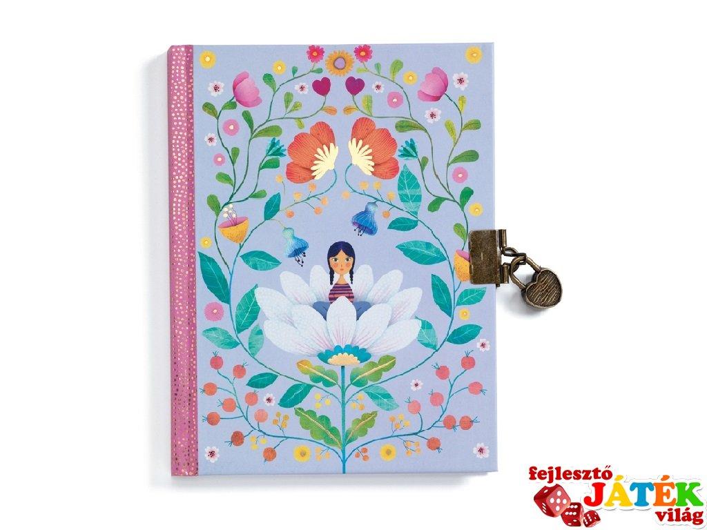 Titkos napló Marie, Djeco Lovely Paper papír írószer - 3616
