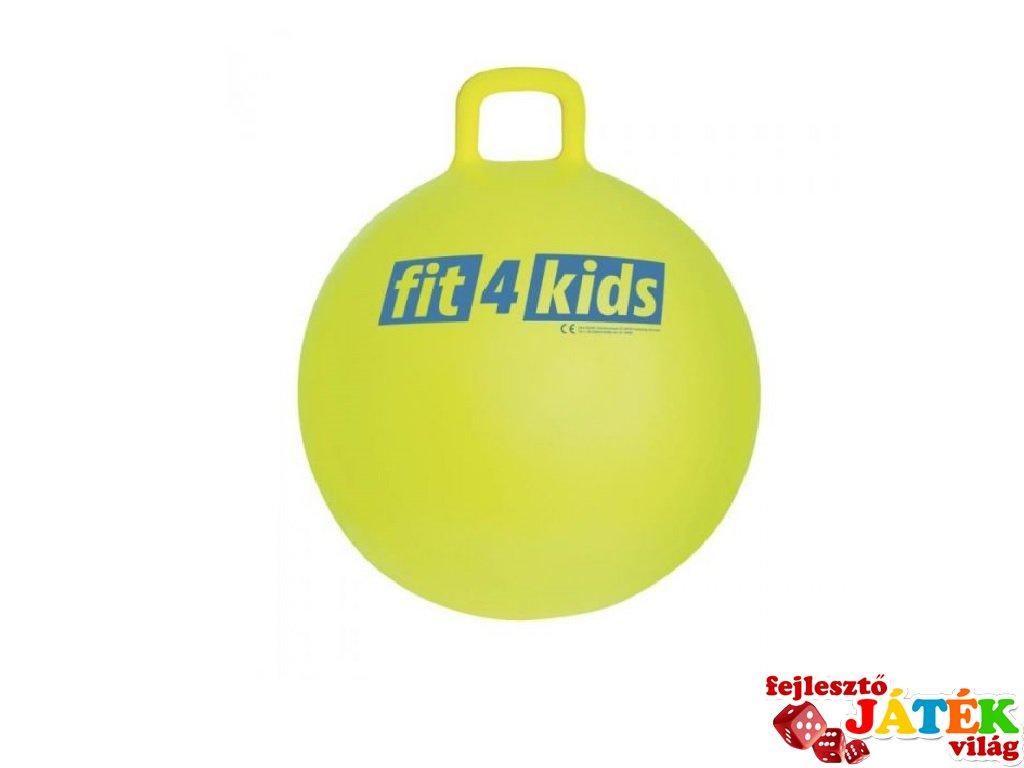Ugráló labda 45 cm, mozgásfejlesztő játék (3-6 év)