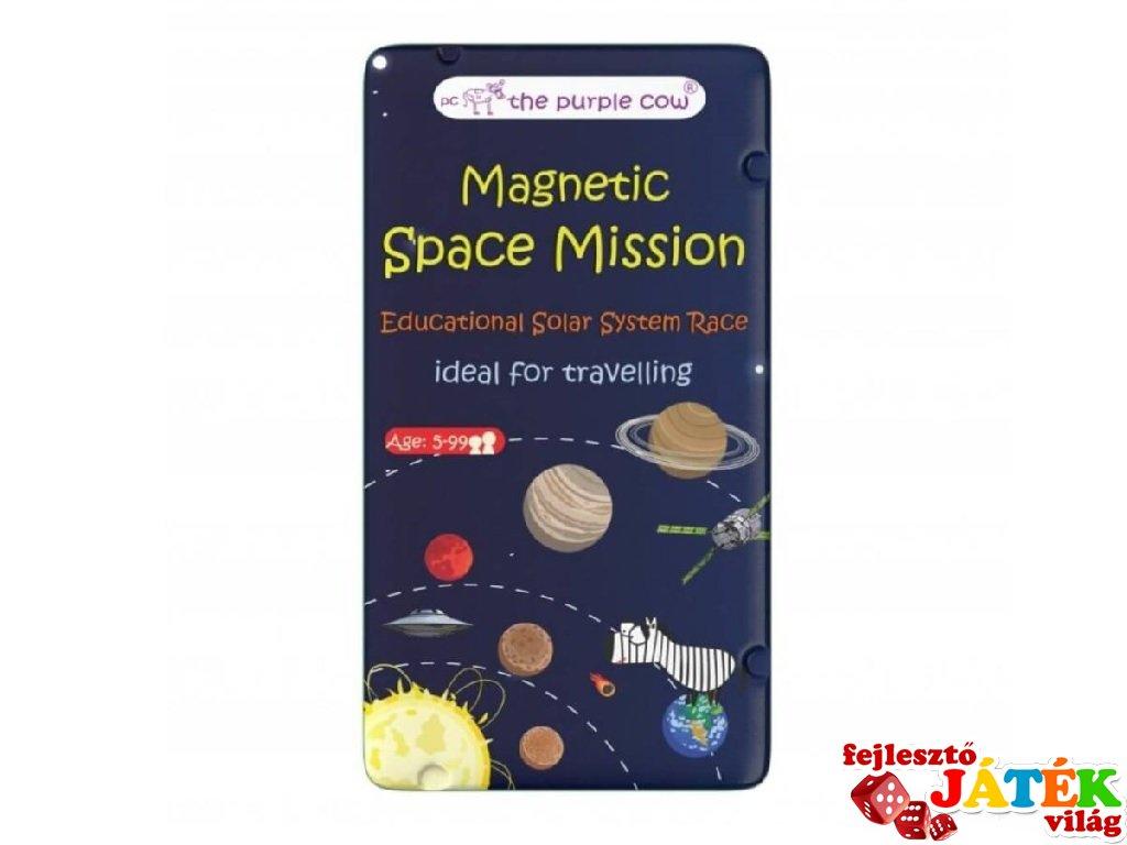 Űr küldetés Purple Cow mágneses társasjáték, utazójáték (5-99 év)