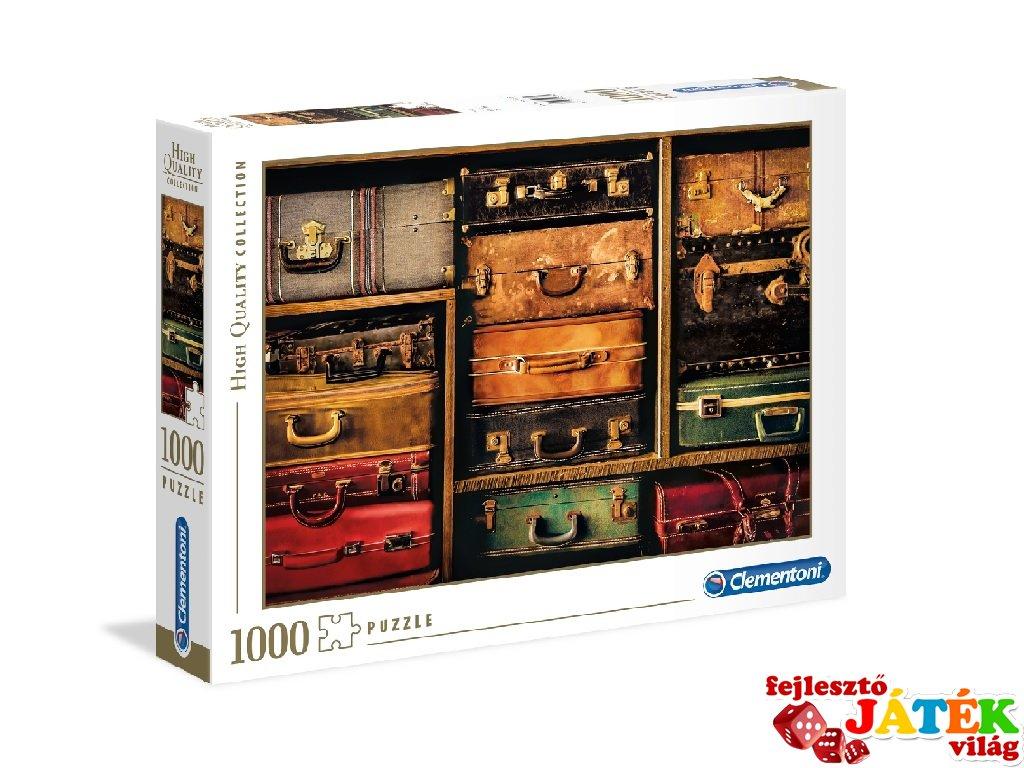 Utazás puzzle, 1000 db-os kirakó (CLEM, 9-99 év)