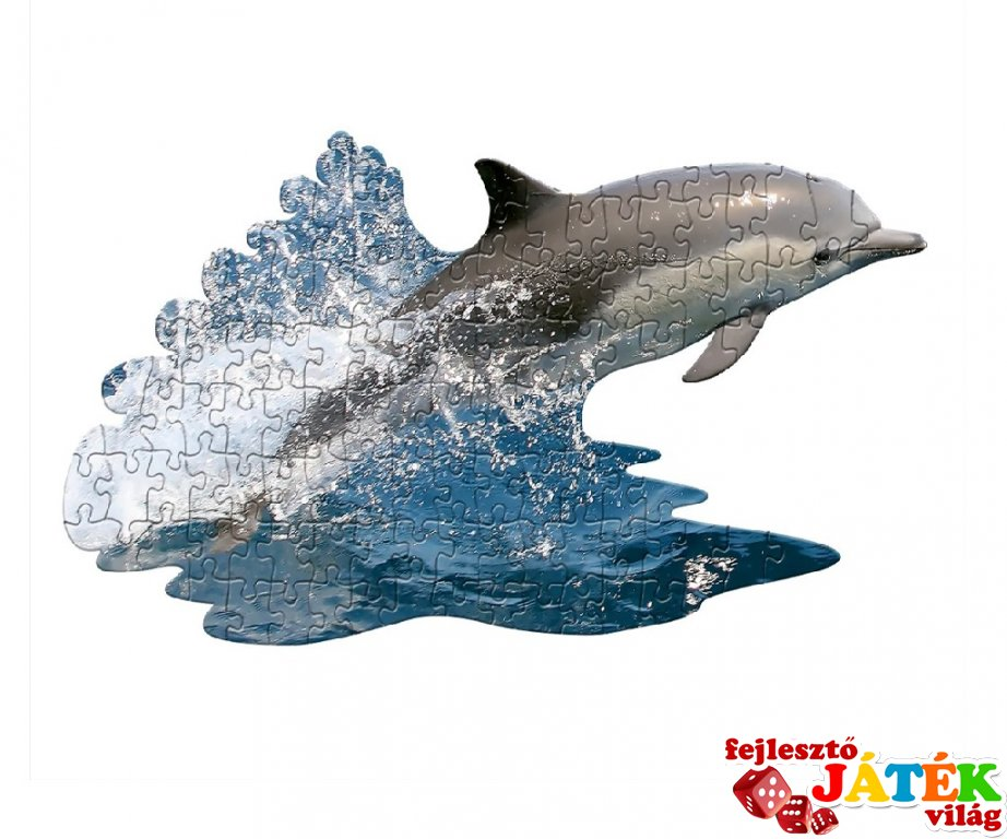 Wow Puzzle Delfin, 100 db-os formakirakó