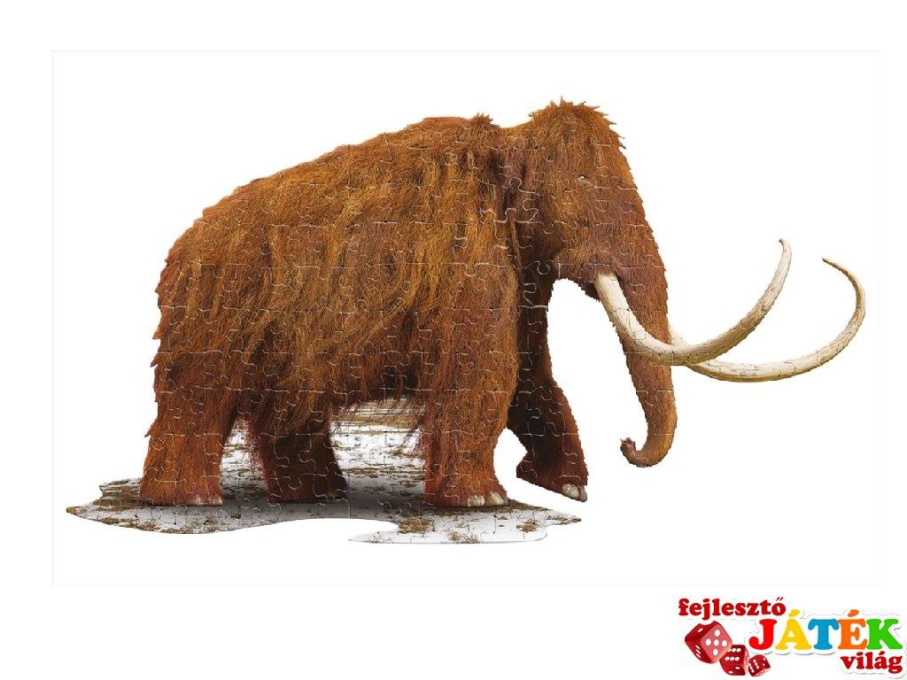 Wow Puzzle Gyapjas mamut, 100 db-os formakirakó