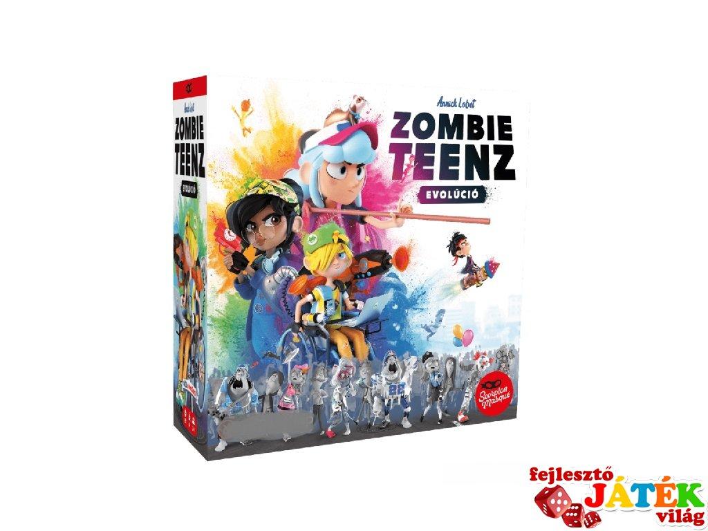 Zombie Teenz Evolúció, kooperatív társasjáték (8-99 év)