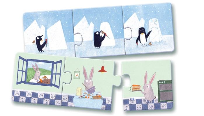 puzzle, játék, fejlesztő játék